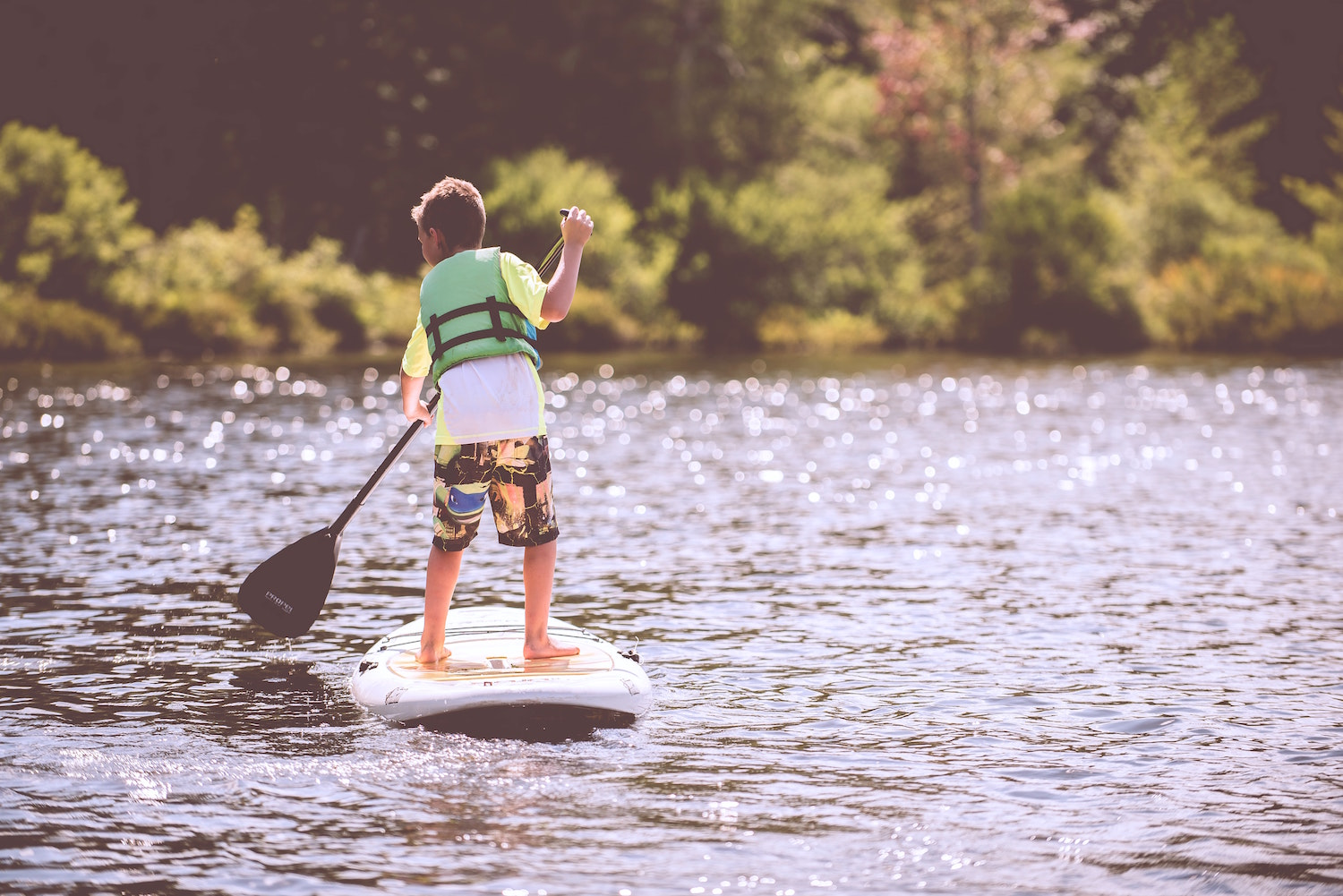 Paddle Boarding in Bend